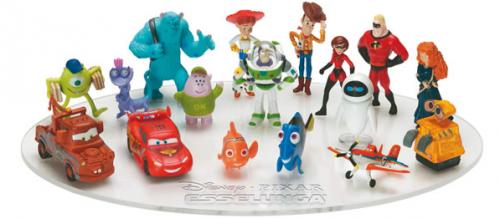 esselunga, cartoni animati, pixar, disney, 2013, figurine, pelouche