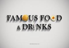 cibi, bevande, cartoni animati