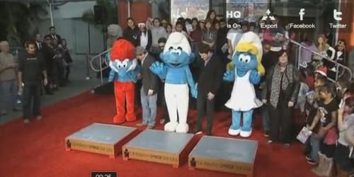 puffi,smurf,walk of fame,hollywood,cartone animato,cartone