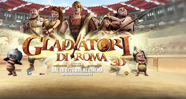 Belen e argentero gladiatori cinematografo