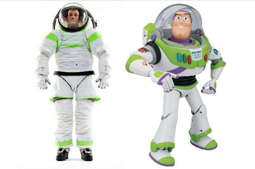 Toy story fonte di ispirazione della nuova tuta nasa