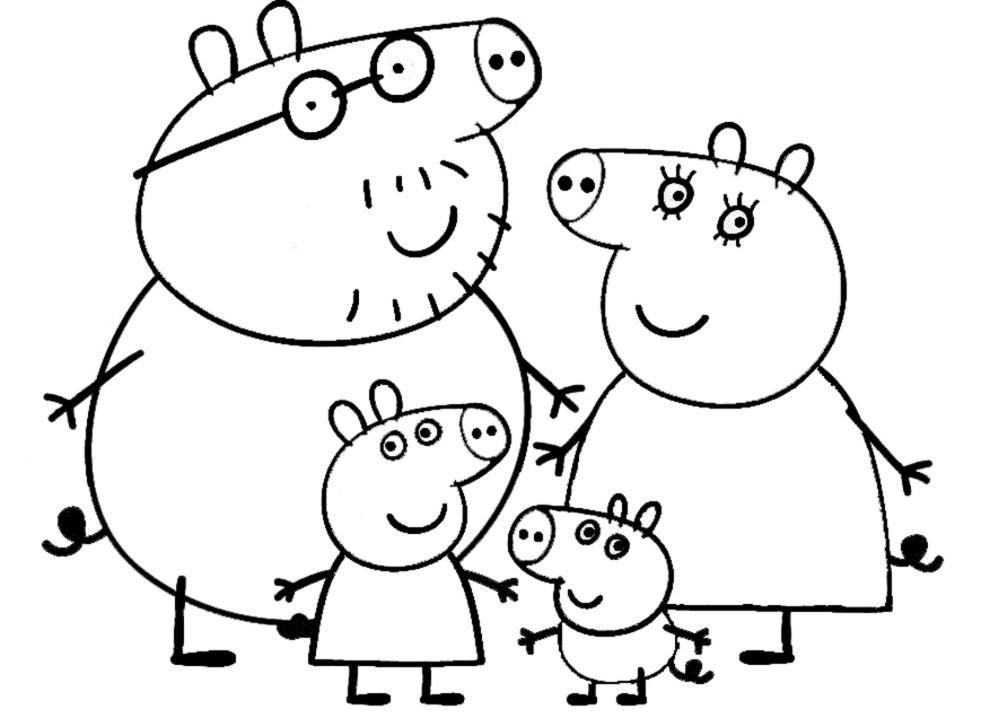 Cartoni animati peppa pig episodi giochi e peppa pig da for Cartoni animati da stampare e colorare