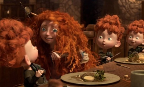 brave, ribelle,cartona animato,disney pixar, video trama