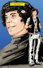 one direction,cartoni animati,fumetto,fame: one direction
